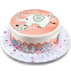Deco for Birthday Cakes