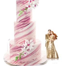 Deco wedding cakes